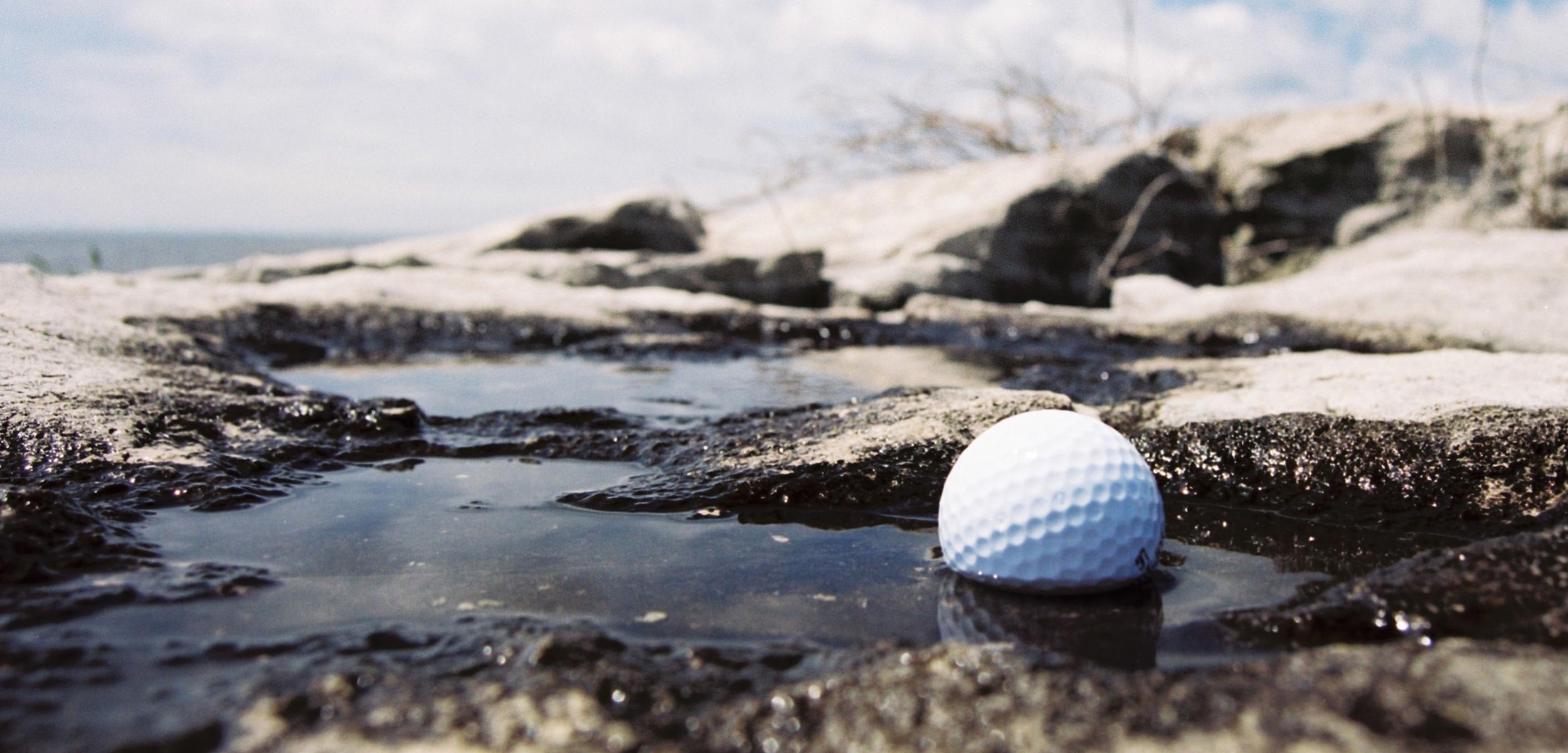 water affect golf balls